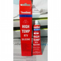 THREEBOND Super Gasket Maker - Lem Merah Anti Bocor 75 Gram Original