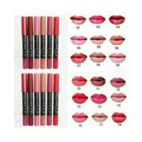 ECER NO 01 KISS PROOF LIPSTIK MATTE LONGLASTING BY ME NOW
