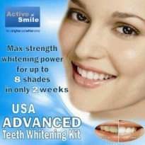 Teeth Whitening Gel Kit Home Bleaching Pemutih Gigi