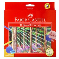 Faber Castell Krayon 24 Warna - Multi Colour