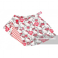 Olive Poncho Baby Nursing Cover 2 Sides - Hello Kitty