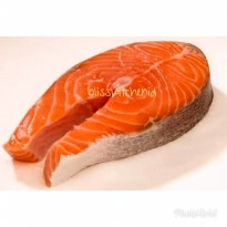 Ikan Tasmanian Salmon Fish Steak Cut Bonein 250gr