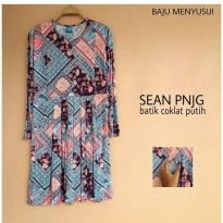 New MAMIGAYA Nursing Wear - Sean Panjang |Dress Menyusu