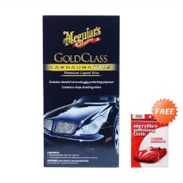 Paket Pembersih Meguiar's Gold Class Carnauba Plus Liquid Wax + Free 1Price KP516 Microcleaning Clot