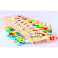 Mainan Anak Edukasi - TEACHING LOGARITHMIC BOARD EDUCATIONAL TOY