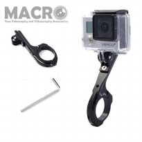 ALUMINUM BIKE CLIP FOR GOPRO CAMERAS HERO2 HERO3 / 3+