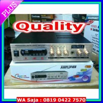 power amplifier digital mixing targa usb sd radio dan bluetooh karaoke