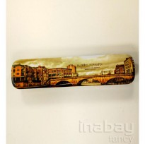 Kotak / Tempat Pensil Kaleng / Pencil Case Fancy - London Bridge