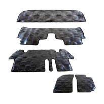 Autofriend AI-6556 Packy Poda Car Mats Set Karpet Mobil for Suzuki Ertiga - Hitam
