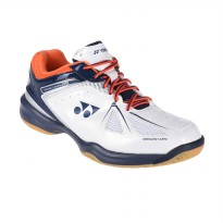 Yonex Power Cushion 35 Sepatu Badminton - White Orange BSHSHB35EXZZ-WTORZZ