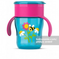 Philips Avent Grown Up Cup 12m+ - Deco Flower and Bee