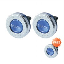 Buy 2 Get 1 Free Carmate Blang Ring Air Conditioner Fragrance White Musk