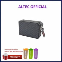 Promo Altec Lansing ONE Waterproof Bluetooth Speaker System - Black