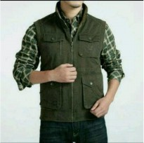 Jaket Rompi Jeep - Outdoor Vest - Original Import - War