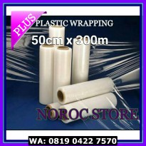(Murah) PLASTIK WRAPPING/WRAPPING PLASTIC/STRETCH FILM/PLASTIK