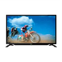 SHARP LC40LE185I LED TV - Hitam [40 Inch/ Khusus Jadetabek]