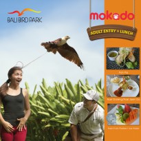 [BALI BIRD PARK] Adult Entry + Lunch