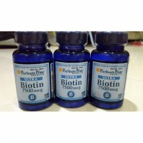 Puritan's Pride Biotin 7500Mcg isi 100 tablets (supplem
