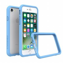 Rhino Shield Crash Guard Bumper Only for iPhone 7 - Baby Blue