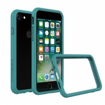 Rhino Shield Crash Guard Bumper Only for iPhone 7 - Teal Blue