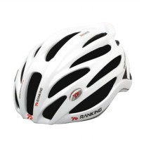 Ranking Feather White Helm Sepeda