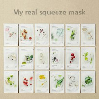 Innisfree My Real Squeeze Mask Sheet NEW