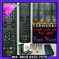 (Dijamin) Remot / Remote TV LCD LED LG ORIGINAL AKB Series