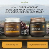 Innisfree Jeju Super Volcanic Pore Clay Mask 100 ml