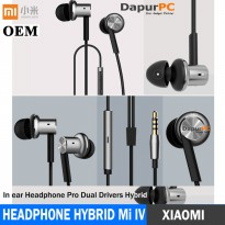Earphone Xiaomi Mi IV Hybrid / Piston 4 Grade AAA Headset