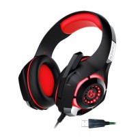 Mediatech 7in1 Storm MGH1 GS400 7.1 Gaming Headphone - Red 56023
