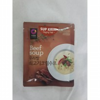 Chung Jung One Soup Cream Beef 60g