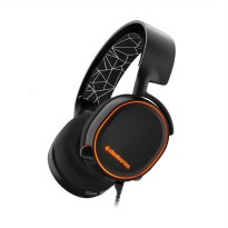 SteelSeries Arctis 5 with 7.1 DTS RGB LED Headset - Black