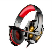 Kotion Each G9000 Single With Led Gaming Headset - Black Red [3.5mm]
