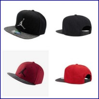 Nike Air Jordan Elephant Bill Snapback - Black