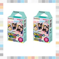 Fujifilm Instax Paket Paper (Paper Stained,Paper Stripe & Paper Shiny)