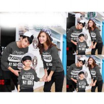 Sweater Family Couple | Baju Sweater Keluarga | Baju Lengan Panjang Couple BFPK AT35