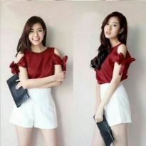 Blouse Molly Maroon