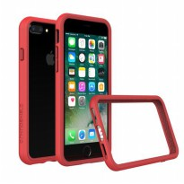 Rhino Shield Crash Guard Bumper Only for iPhone 7 Plus - Red