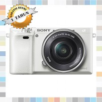 Sony A6000 Mirrorless Camera with 16-50mm lens White