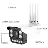 Ip Camera Wifi Outdoor 2Mp HD 1080P 4 Antena