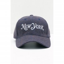 Men New York Wool Cap Grey