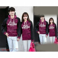 Jaket Baju Couple | Sweater Couple | Pakaian Kapel JKPK AT71