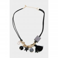 Keyara Necklace Black