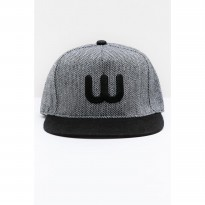Men The W Cap Grey