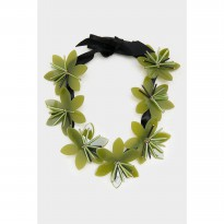 Kylee Necklace Green