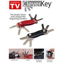Clever Key As seen TV smart holder organizer kunci lipat gantungan new