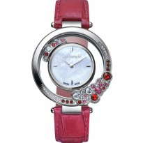 Guy laroche - SL5002-02 jam tangan wanita - leather strap - merah