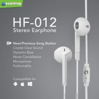 Hippo Headset Headphone HF 012 - Super Bass
