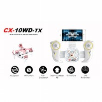 Cheerson CX - 10WD + TX Nano Quadcopter 4 Channel 6 Axis 2.4G - Gold