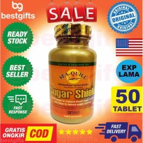 SEA-QUILL SEA QUILL SUGAR SHIELD DIABETES MENURUNKAN KADAR GULA DARAH NYERI KEBAS TUMPUL 50 TABLET